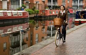 Birmingham, England-Brooks Bike Ride