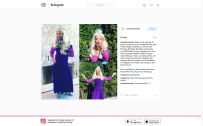Instagram engagement for Princess Dads initiative to promote the Princess Tea Party 2016 campaign.